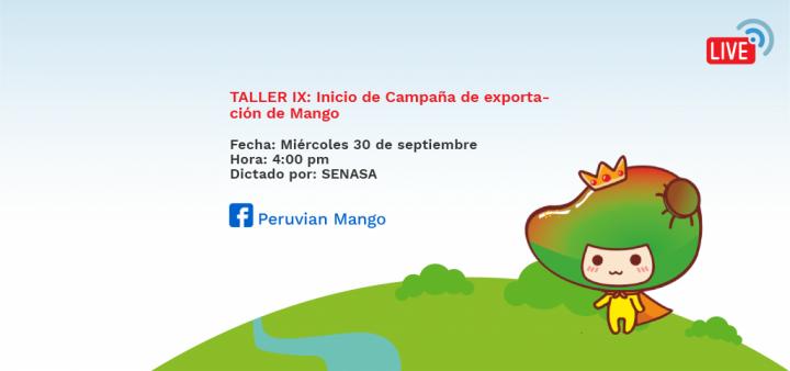TALLER IX: Inicio de Campaña de exportación de Mango